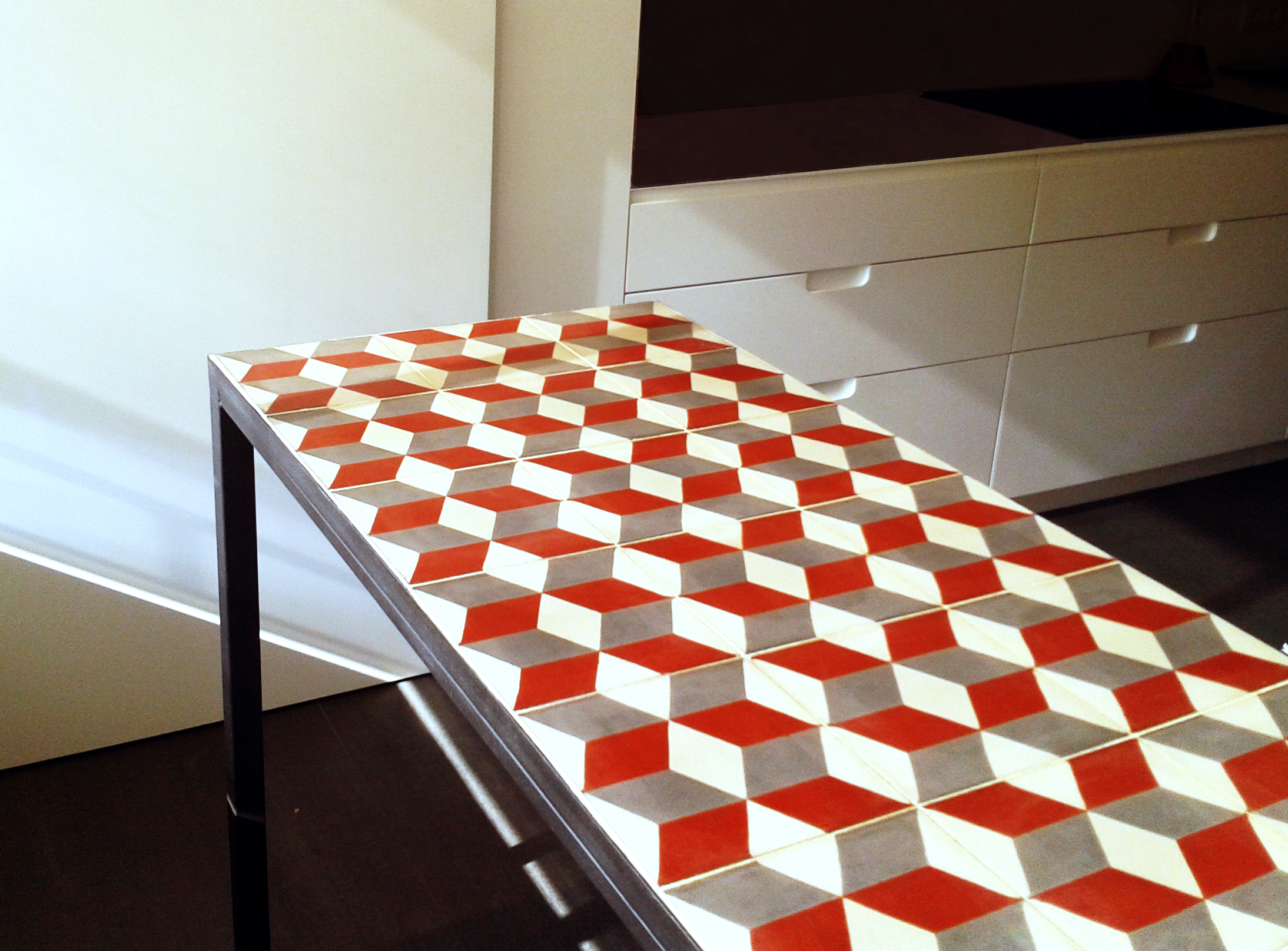 mesa tipo barra para cocina taula barra salva